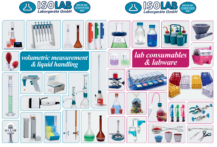 Laboratory glassware & apparatus ISOLAB